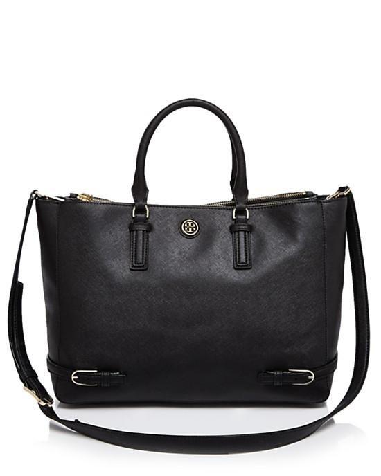 88f3bd497a3d Tory Burch Robinson Large Multi Black Tote Bag. 25% off!!!
