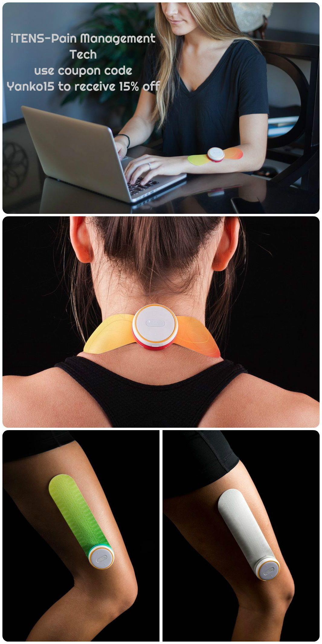 ITENS OFFERS PAIN MANAGEMENT VIA WEARABLE TECHNOLOGY- Simply use the coupon code: Yanko15 –…