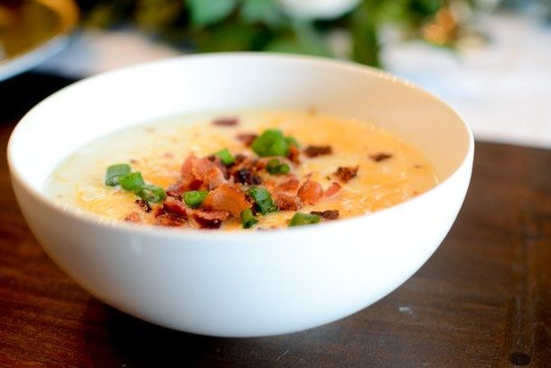 Loaded Cauliflower Baked Potato Soup (Instant Pot) #loadedcauliflowerbake Loaded Cauliflower Baked Potato Soup (Instant Pot) #loadedcauliflowerbake
