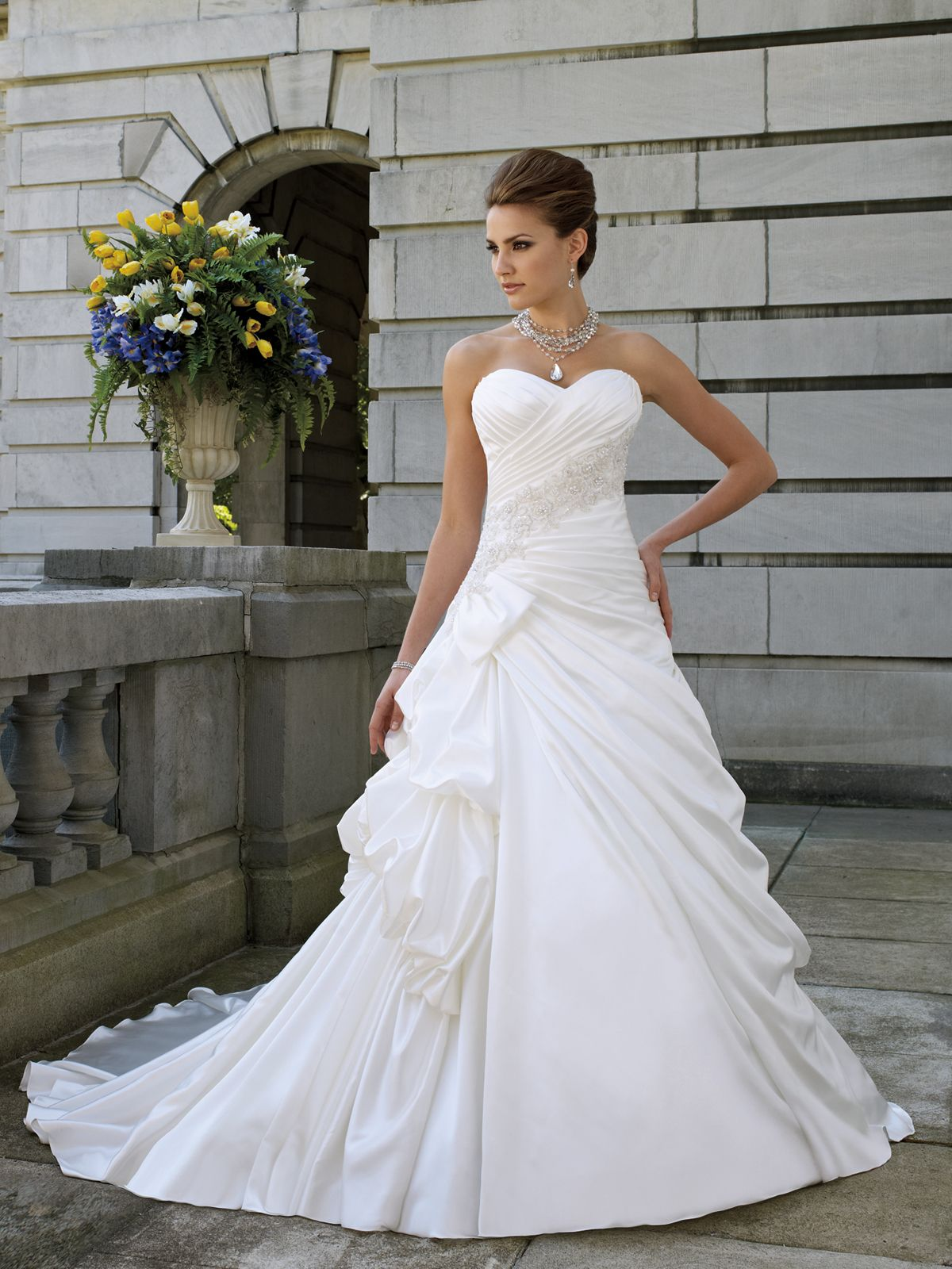 Wedding dresses and bridals gowns by david tutera for mon for How much are mon cheri wedding dresses