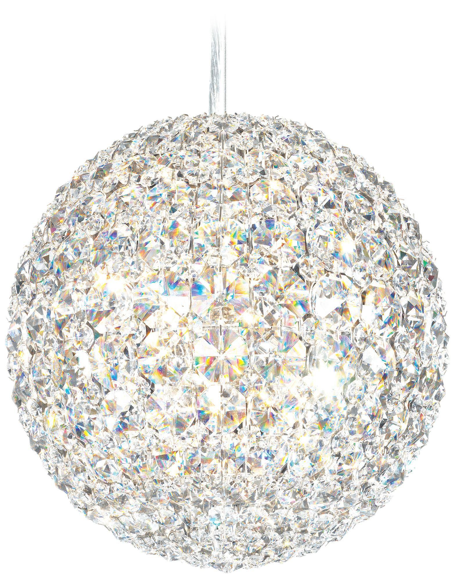 Chandelier Plus Home Schonbek 541 Da Vinci Collection 10 Wide Crystal Pendant Light Lampsplus Com