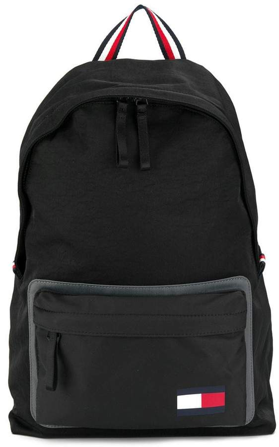 602fe14cfc2 Tommy Hilfiger Utility logo patch backpack | Products in 2019 ...