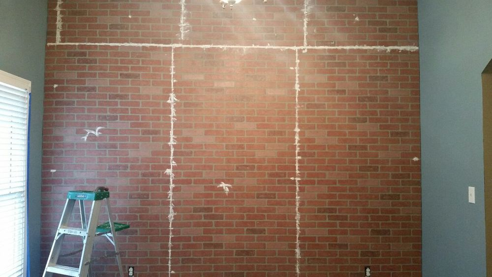 Faux Brick Wall Faux Brick Walls Faux Brick Brick Wall Paneling