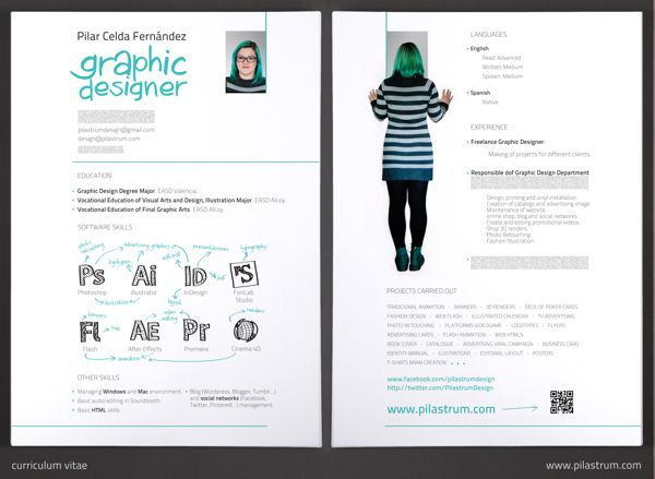My Resume Curriculum Vitae On Behance Infographic Visual Resumes