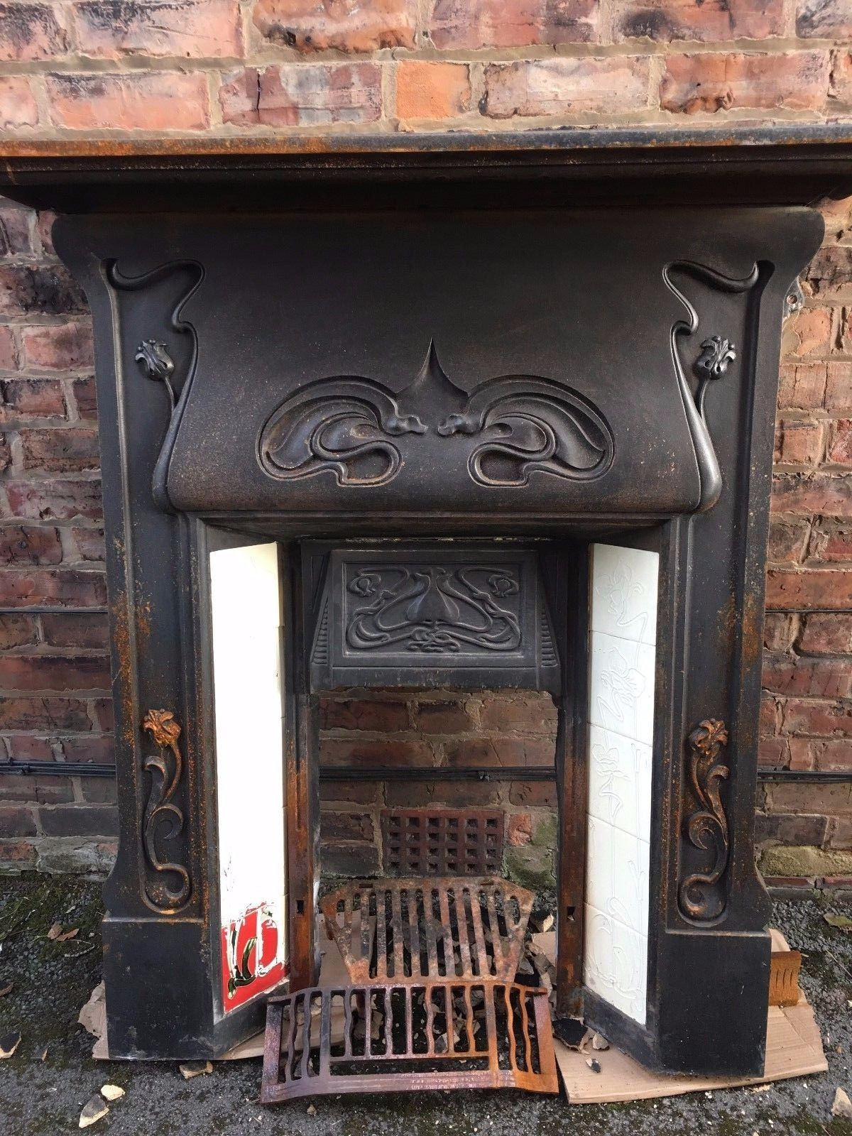 Pin By Britain S Heritage On Un Restored Antique Fireplaces Antique Fireplace Surround Antique Fireplace Fireplace