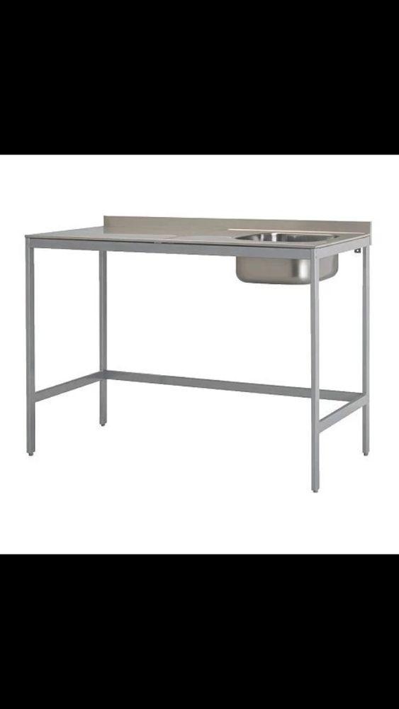 Udden Edelstahl Spultisch Ikea Kuche Freistehend Ikea Und Unterschrank Kuche