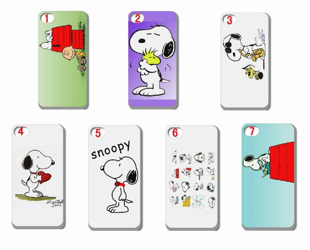custodia iphone 6 snoopy