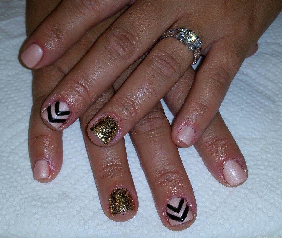 Nail Art By Kenia Gelnails Glitternails Gel Nails Glitter Nails Nails