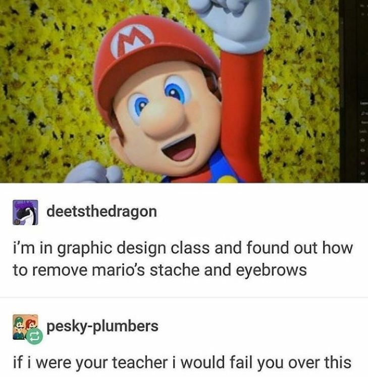 This Is Disturbing Want More Pins Like This Follow Me Allegromaestoso Funny Moments Mario Memes Memes