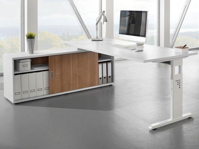 Schreibtisch mit Sideboard 1758 | Büromöbel günstig, Büromöbel und ...
