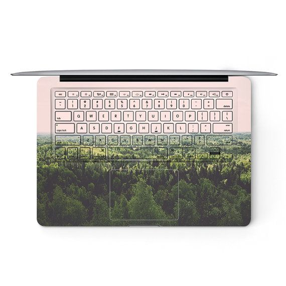 Forest View Apple MacBook Keyboard Cover Decal by ArtisticDecals