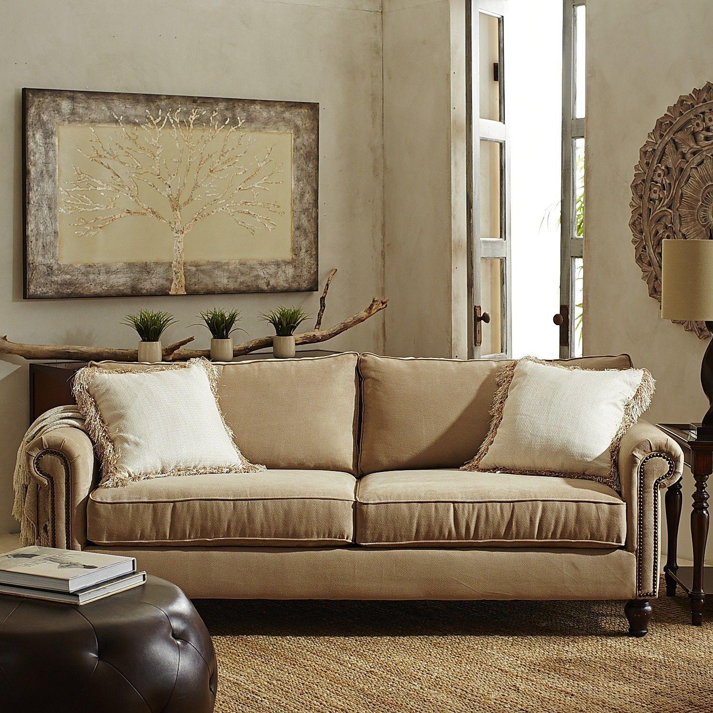 Alton Sofa - Ecru | Pier 1 Imports | Sofa, Living room ...