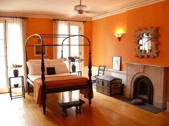 10 Beautiful Bedrooms Orange rooms, Bedrooms and Room
