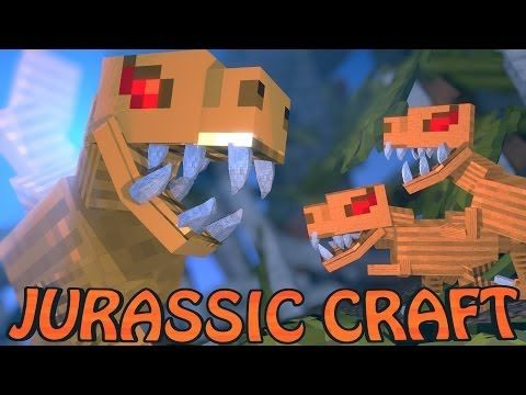 Minecraft Dinosaurs | Jurassic Craft Modded Survival Ep 2