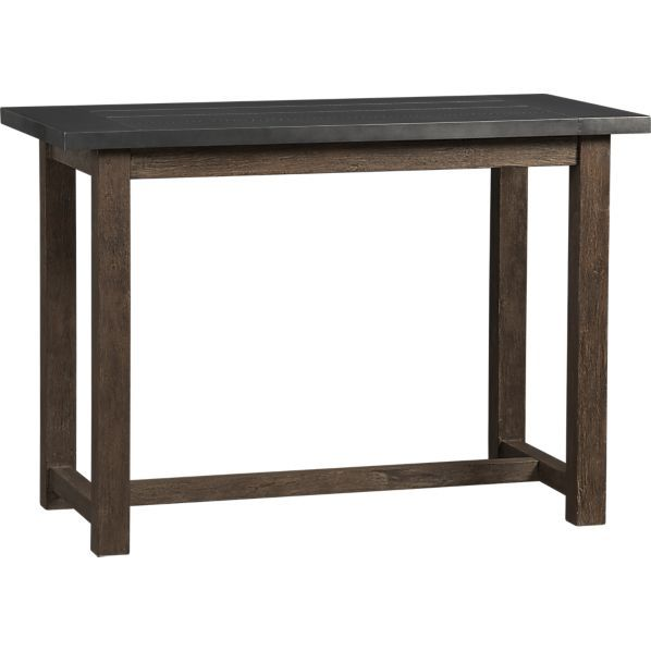 District High Dining Table In Dining Tables Crate And Barrel The Small High Dining Table We Looked A High Dining Table Dining Table In Kitchen Dining Table