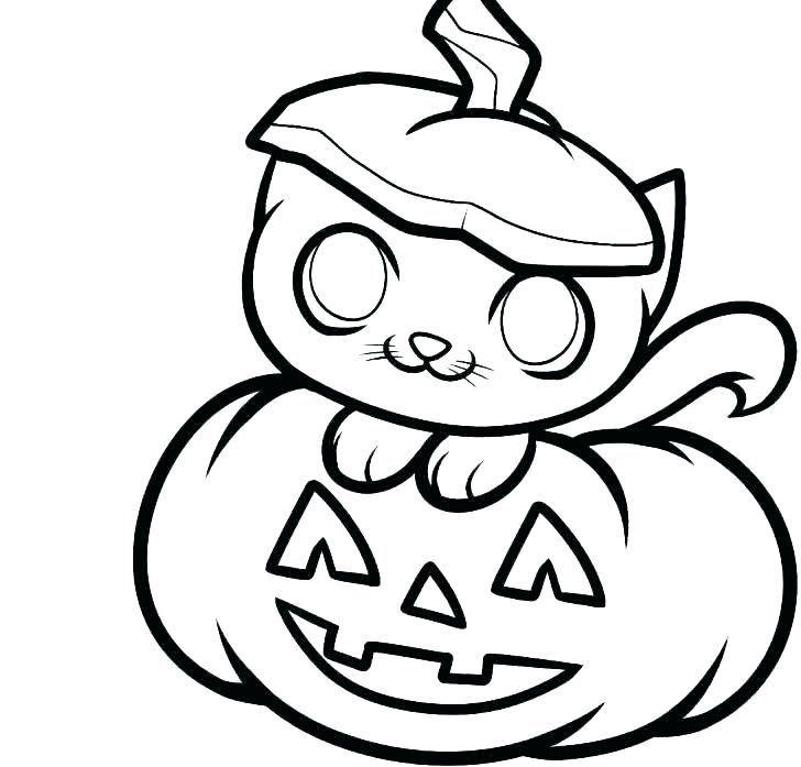 Pumpkin Coloring Pages Easy halloween drawings