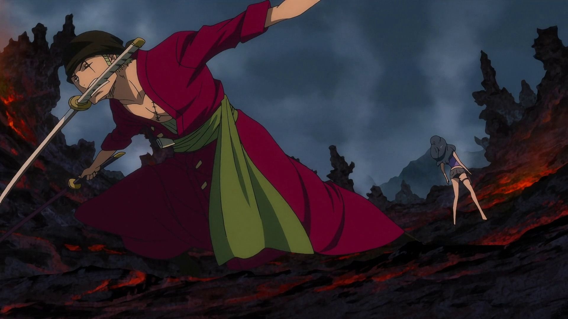 1920x1080 One Piece New World Zoro Full Hd Pics Wallpapers