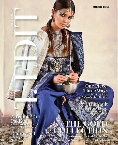 #faizaashfaq on the cover of #tribuneedit #tedit  #follow #followme #followback #followforfollow #love #insta #glam #magazine #shoot #cover #photo #peace #samysays #great #showbiz #fashion #model #supermodel
