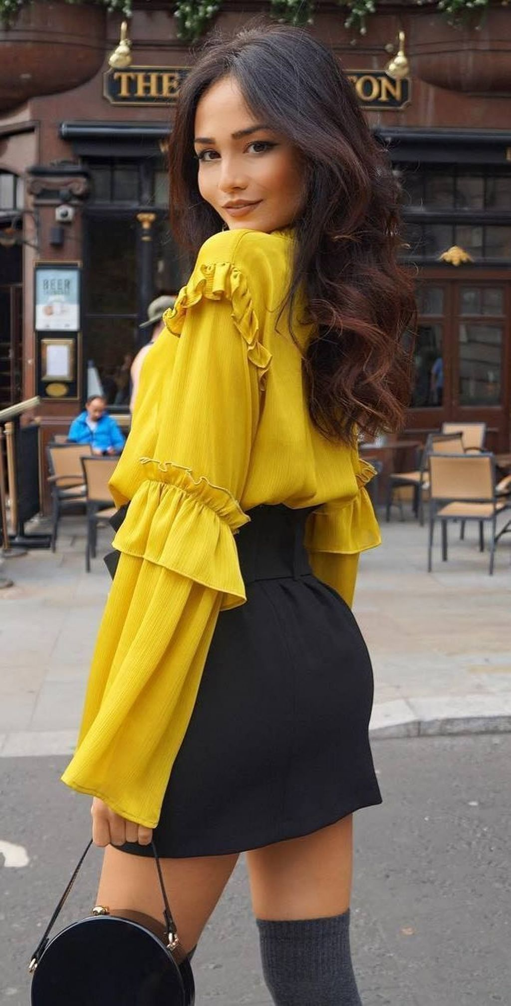 77 YELLOW // YELLOW OUTFITS ideas | yellow outfit, atlantic...