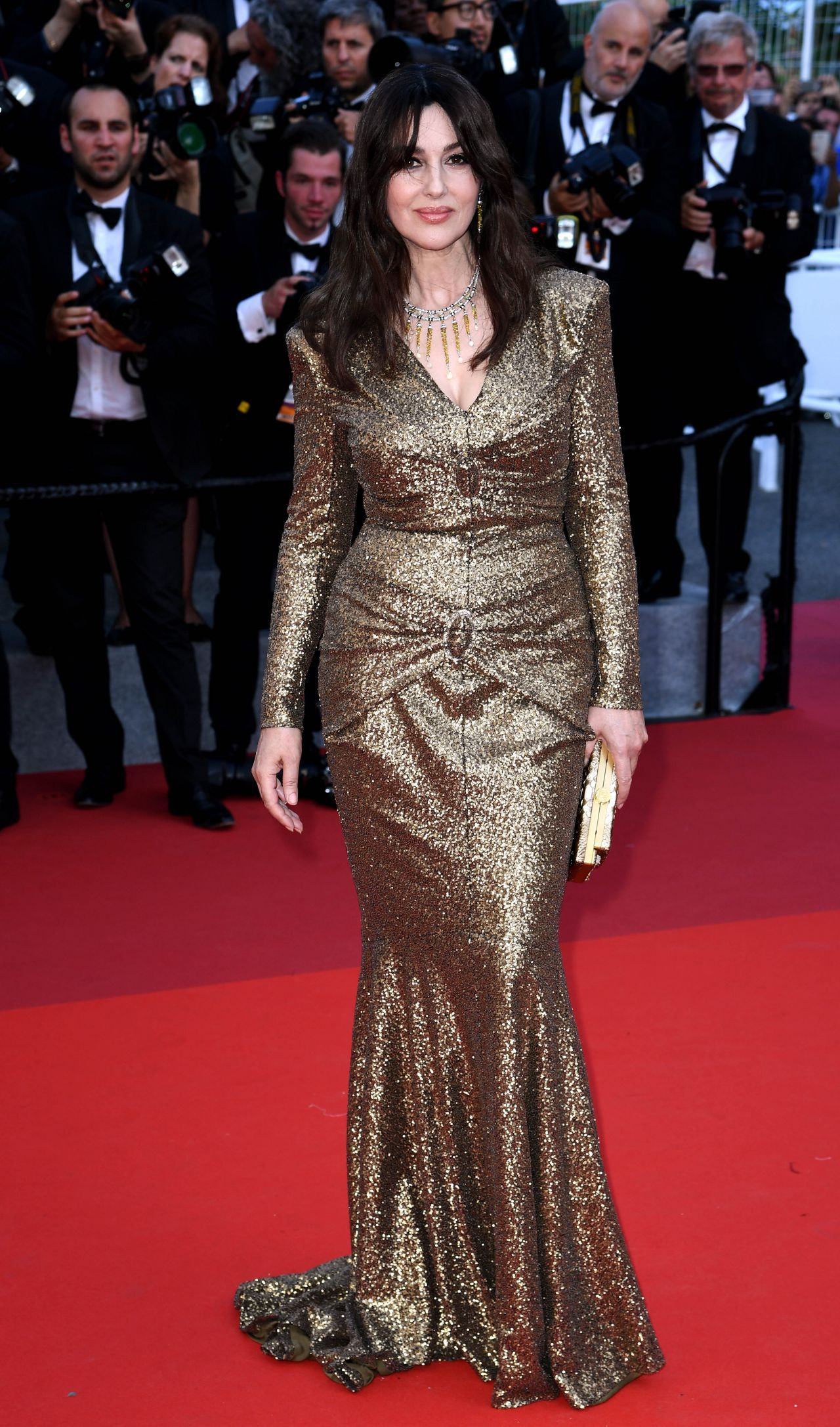 Monica bellucci anniversary soiree at cannes film festival