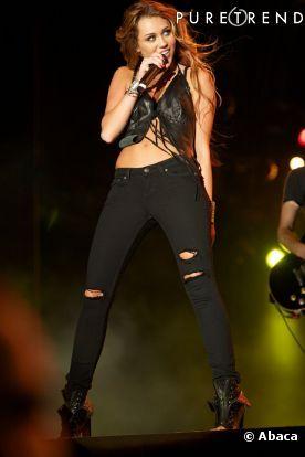 Miley Cyrus cresceu
