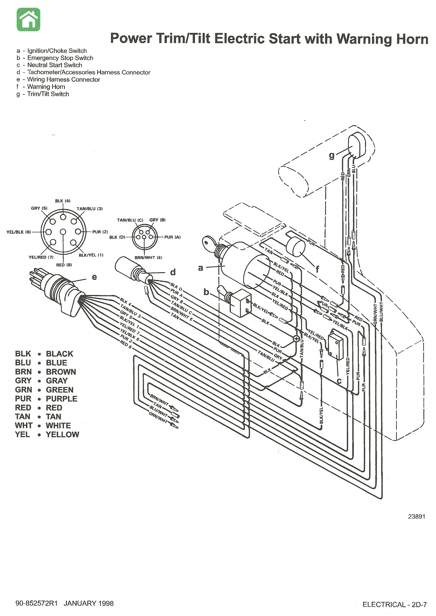 Mercury Outboard Wiring Schematic Have A 1998 50hp Mercury Outboard Motor Ser 0g6291554 Ineed Mercury Outboard Outboard Outboard Motors