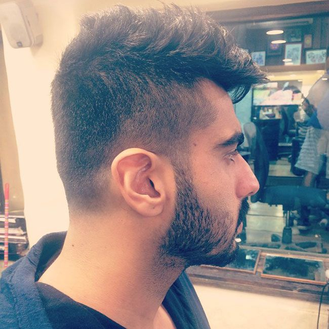 New Hairstyle Beauteous Check Out Arjun Kapoor's New Cool Hairstyle  Pinterest  Arjun