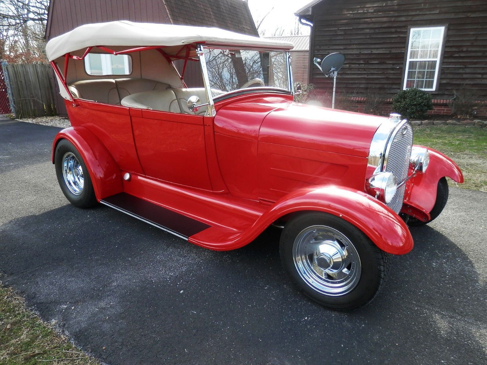 eBay: 1929 Ford Model A SELL OR TRADE FOR NICE 55-57 CHEVY HT 1929 ...