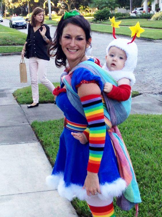 Brite costume rainbow