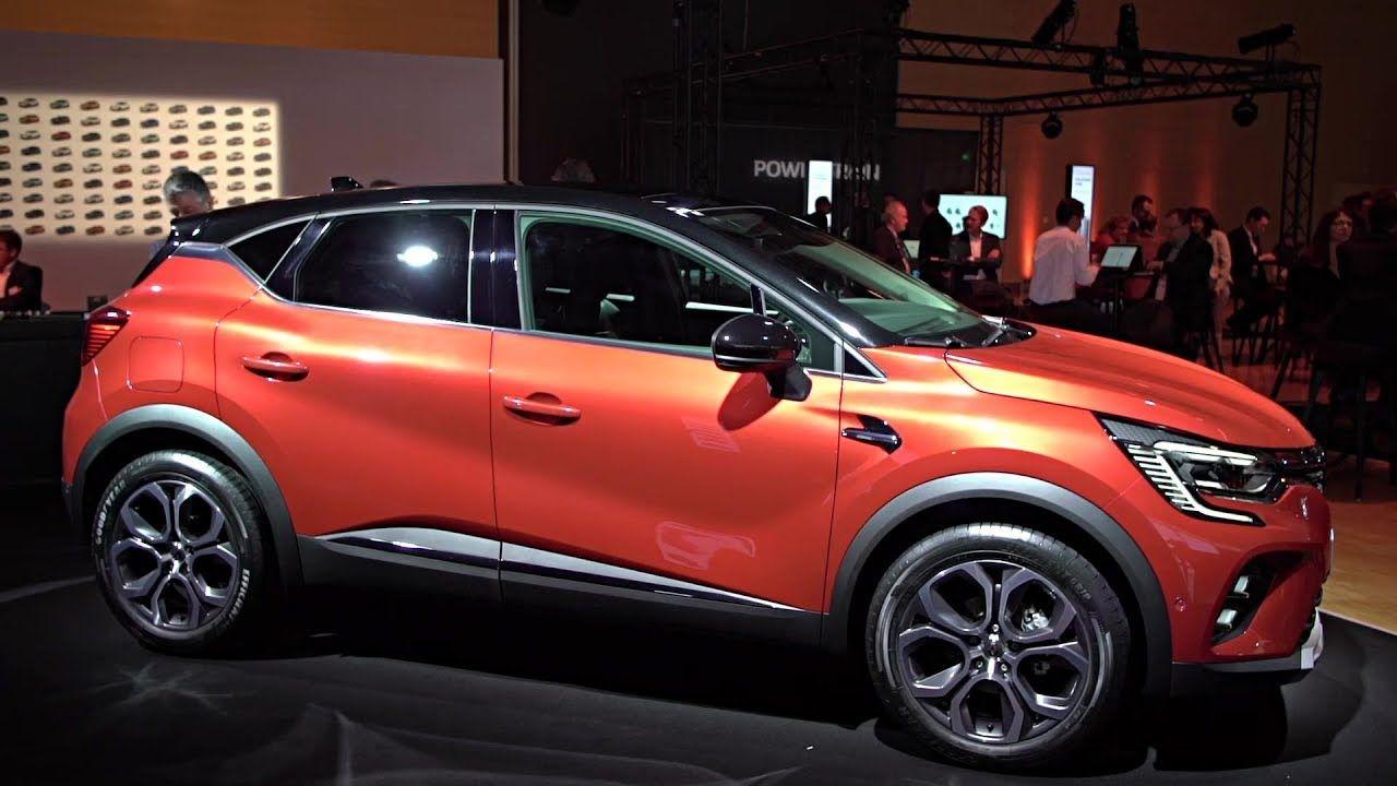 2020 Renault Captur Interior Exterior Frankfurt Motor Show 2019
