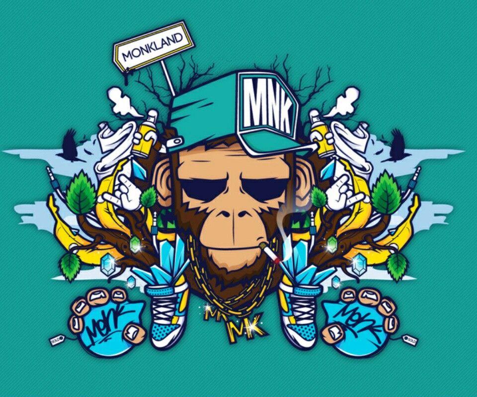 Graff de singe