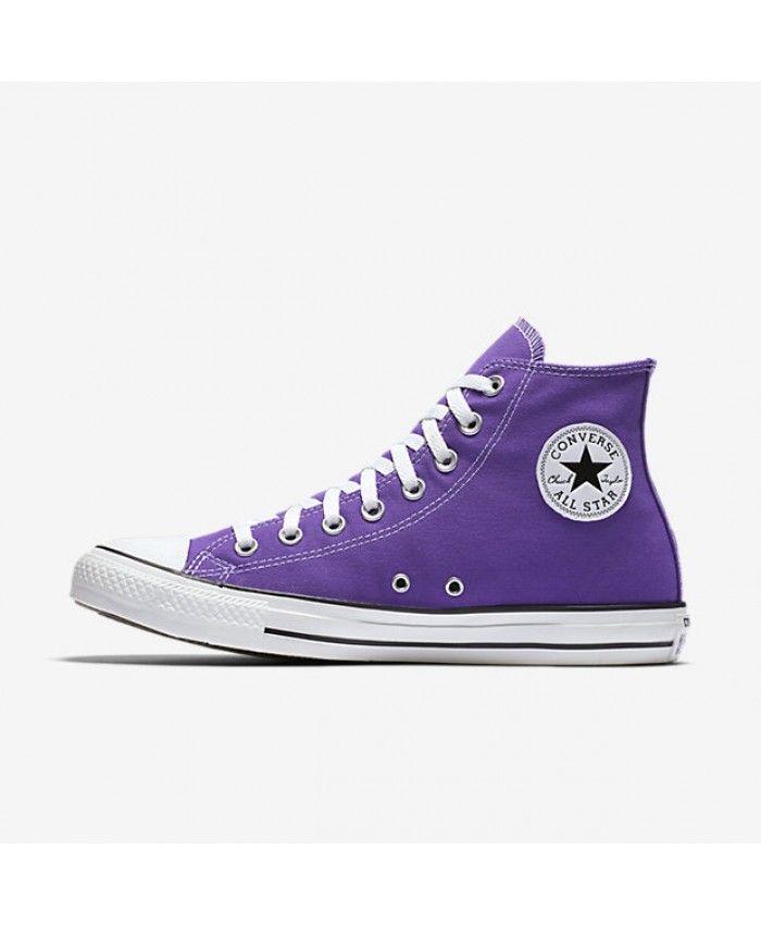 e9a04de9b97647 Converse Chuck Taylor All Star Seasonal High Top Purple 137833F-500 ...