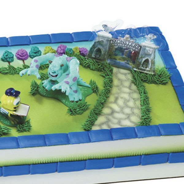 food lion monster university cakes cake decorations dash cake
