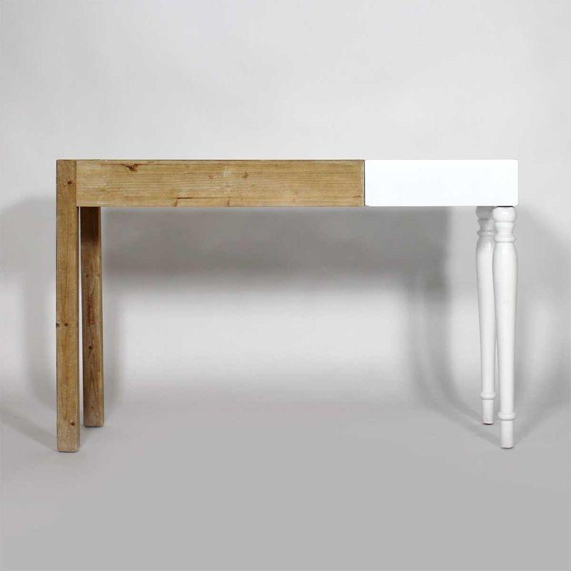 Image result for meuble console asymétrique Coin bureau