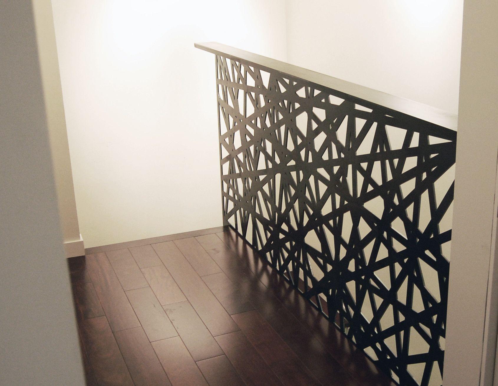 garde corps acier feuille acier pliage d coupe laser motif fabrication beau deisgn. Black Bedroom Furniture Sets. Home Design Ideas