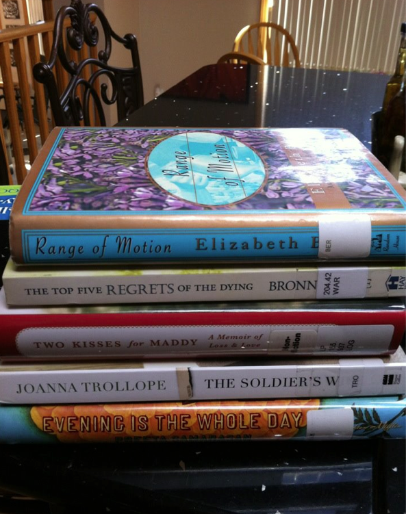 Summer reading--I'll be out on the deck :)