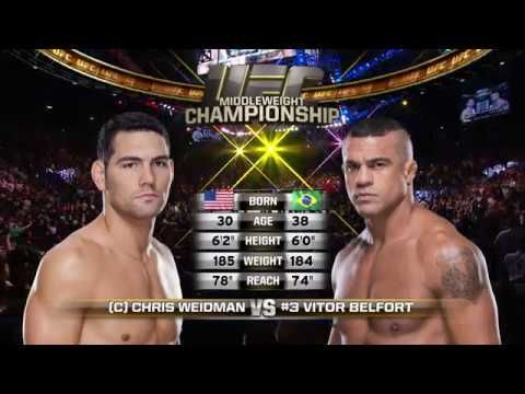 Starkmma Ufc 210 Free Fight Chris Weidman Vs Vitor Belfort Vitor Belfort Chris Weidman Ufc News