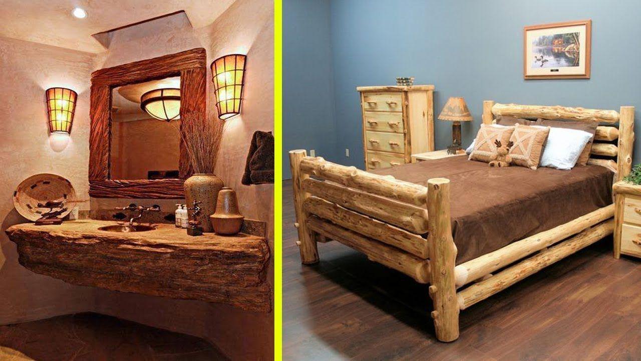 120 Creative WOOD Furniture and House Ideas 2017 | Interior ...
