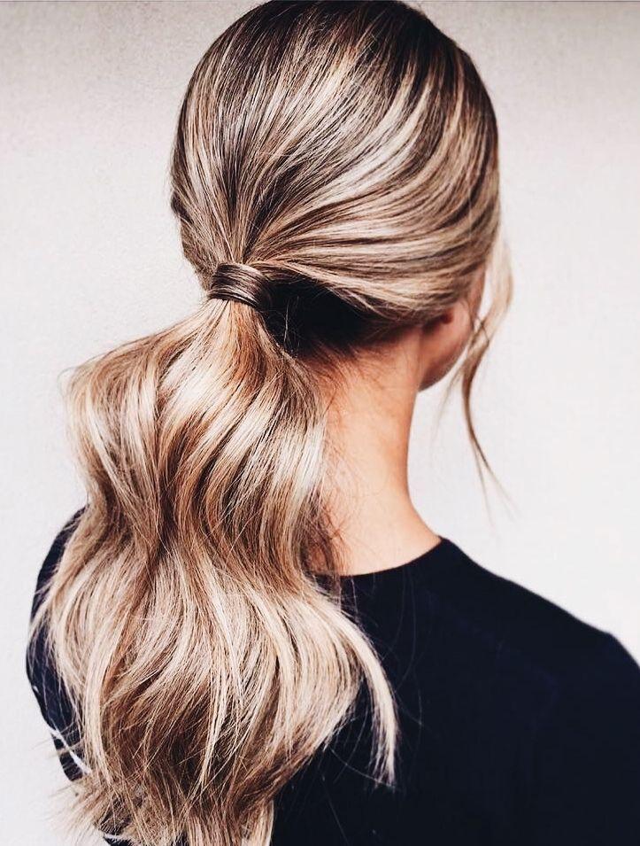 perfect ponytail  medium hair styles hair lengths