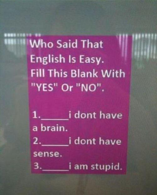 The English Languagehahaha At Sara Smith If I Were An English