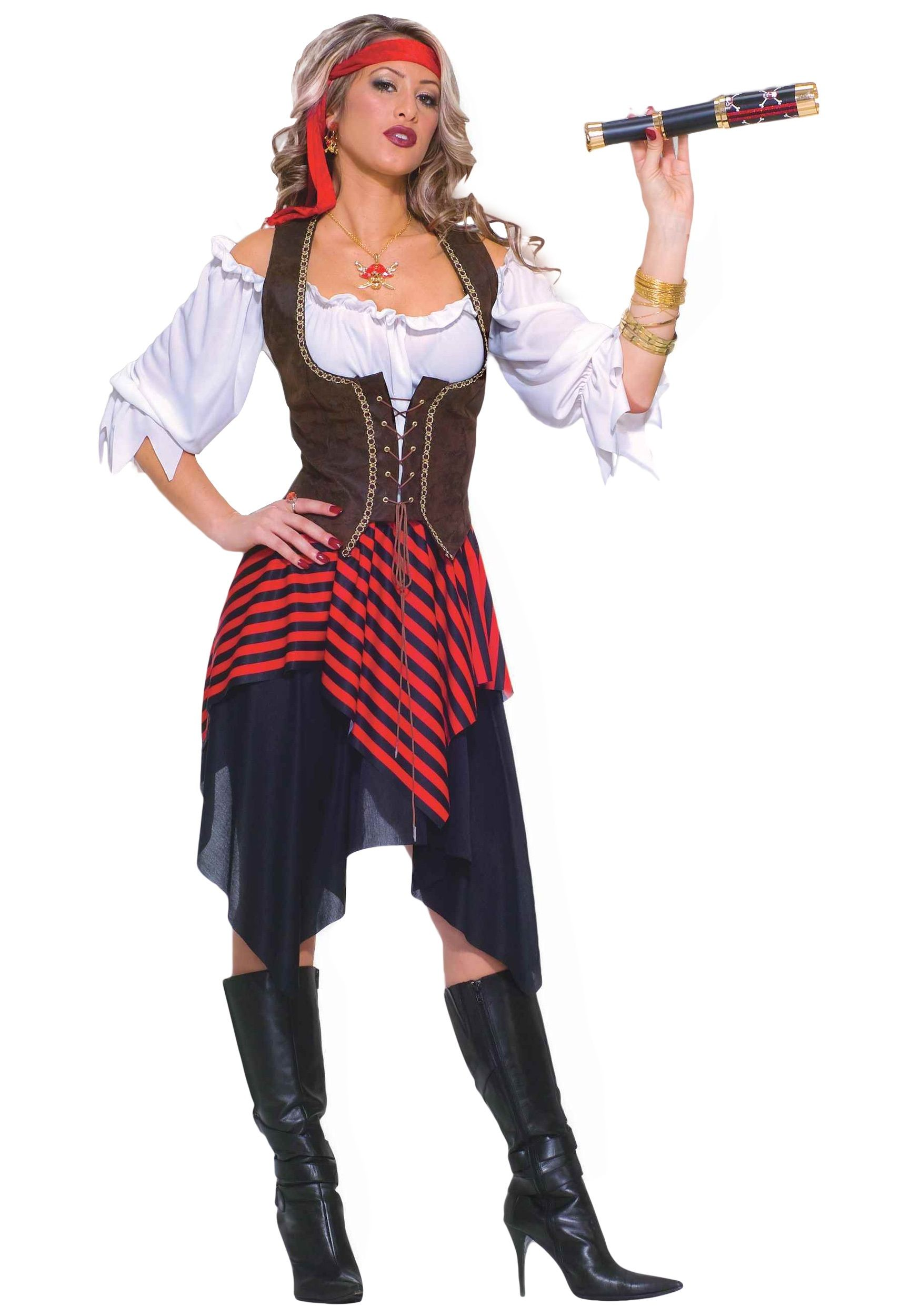 It\'s time to buck up! This Sweet Buccaneer Costume is a great pirate ...