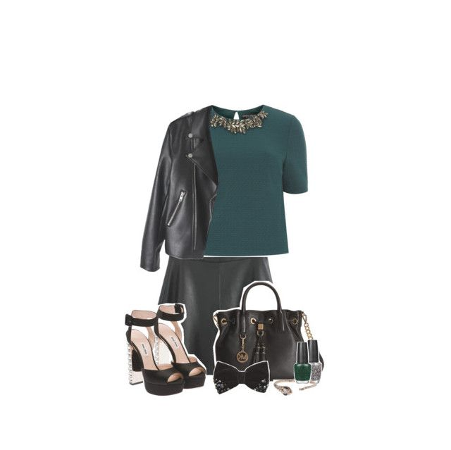 """""""☾ slytherin!inspired outfit 