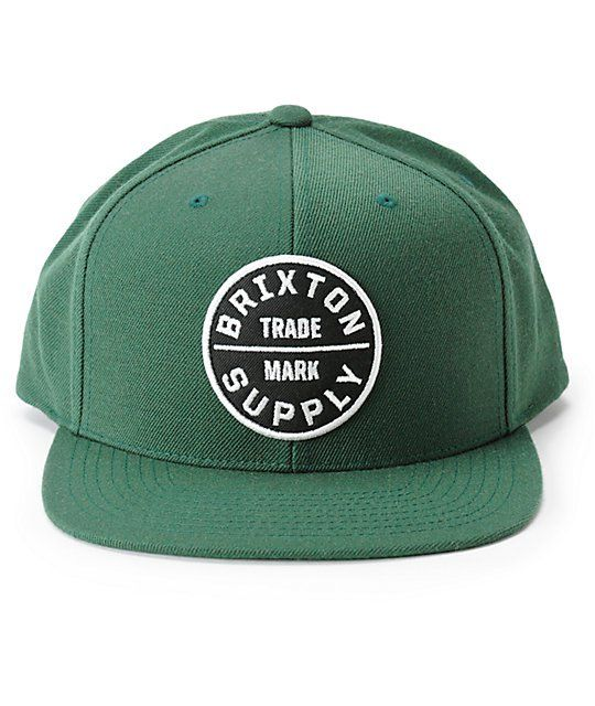 0dd0b900 Brixton Oath III Snapback Hat | Snapbacks 'n' Stuff | Snapback ...