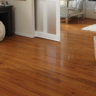 Somerset Floors Classic Oak Thick Wide Length Solid Hardwood Flooring