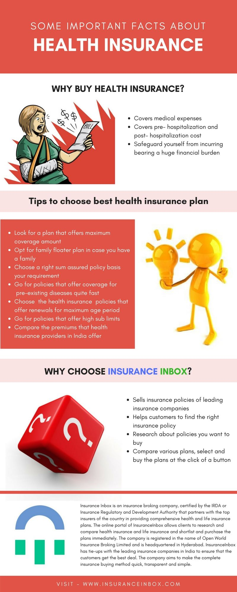 Some important facts about Health Insurance Best health