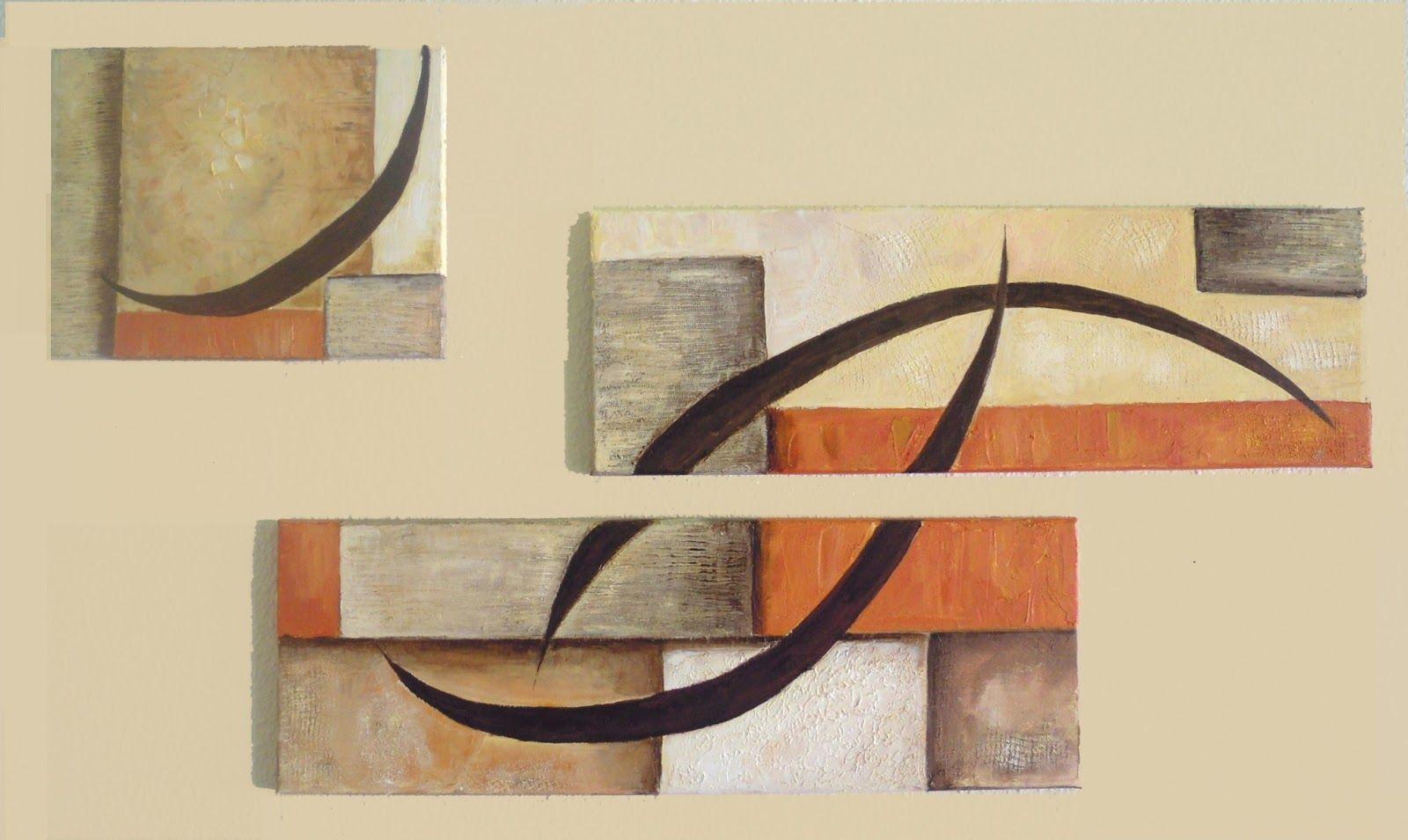 como diseñar una pintura en tres cuadros - Buscar con Google ...