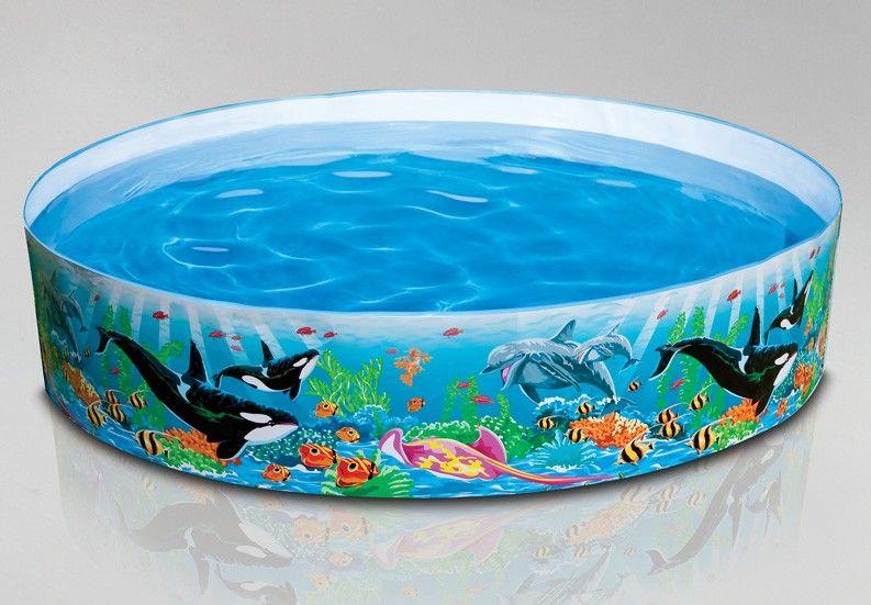 Intex Ocean Reef Snapset Pool 6 X 15 58461ep Kiddie Pool