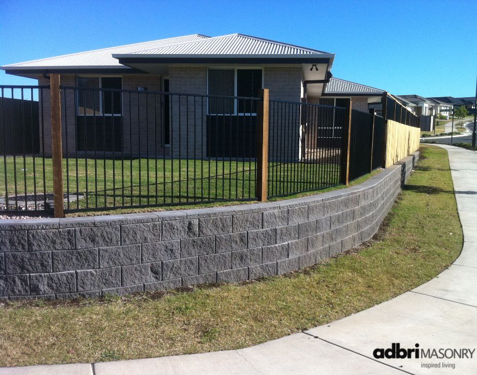 Curved Retaining Wall Landscaping Retaining Walls Garden Retaining Wall Retaining Wall