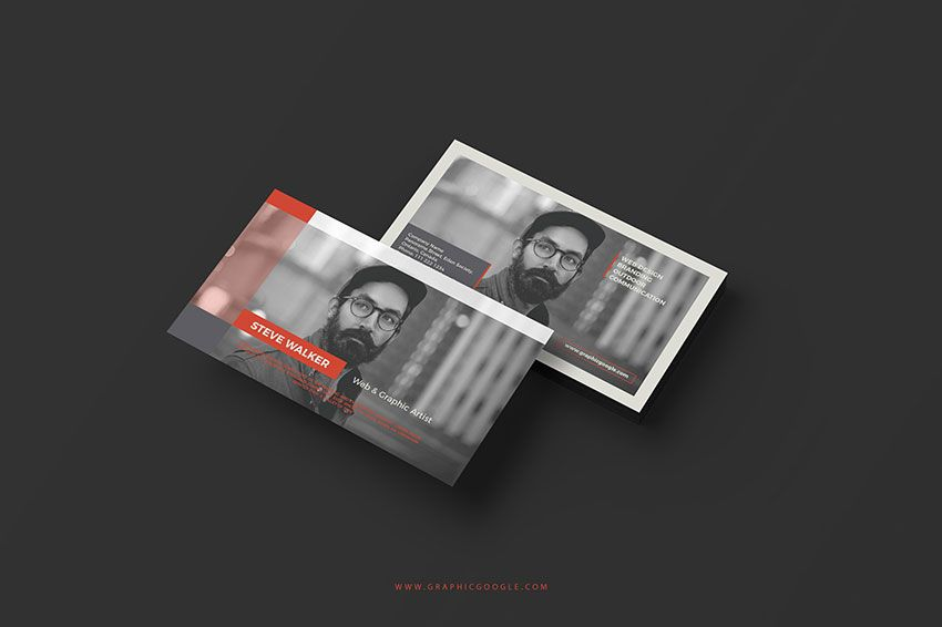Free Creative Graphic Artist Business Card Template | Business Card ...
