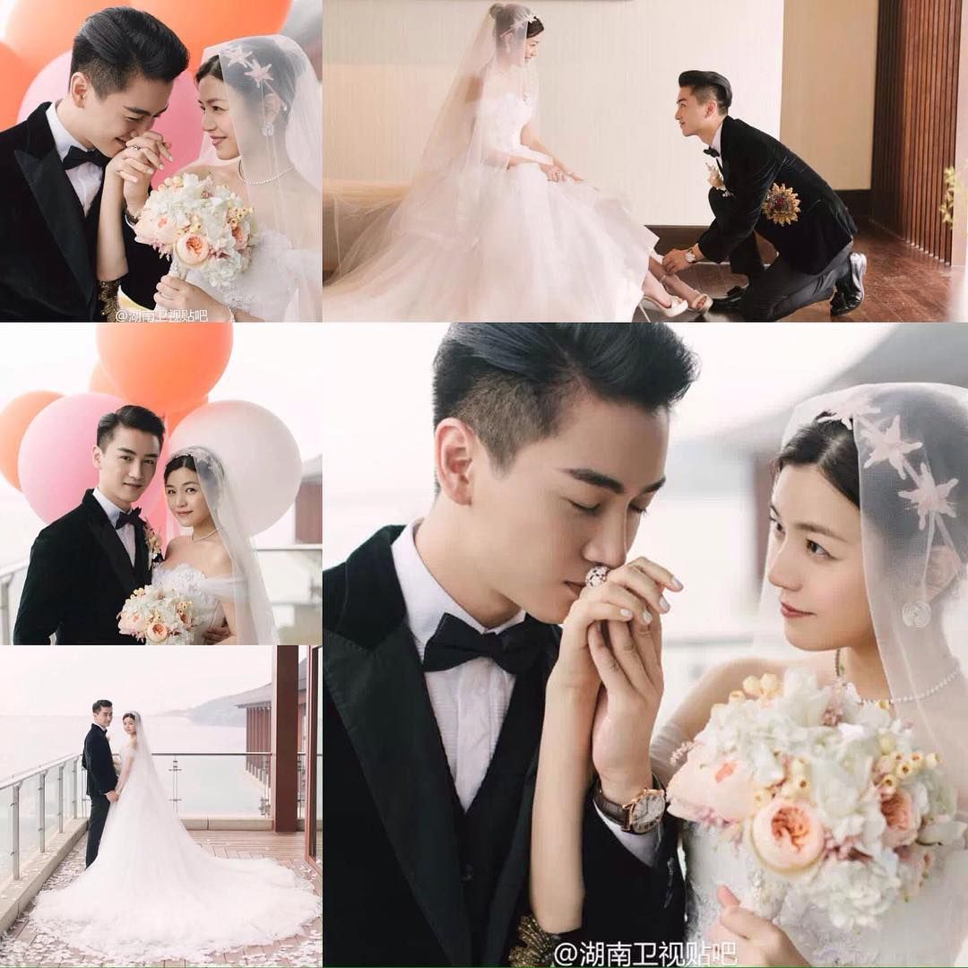 Korean Celebrity Wedding Photos: See This Instagram Photo By @chinese.celebs • 70 Likes
